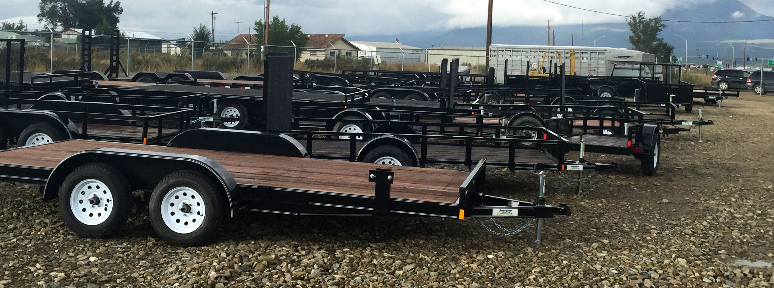 New Flatbed Trailers