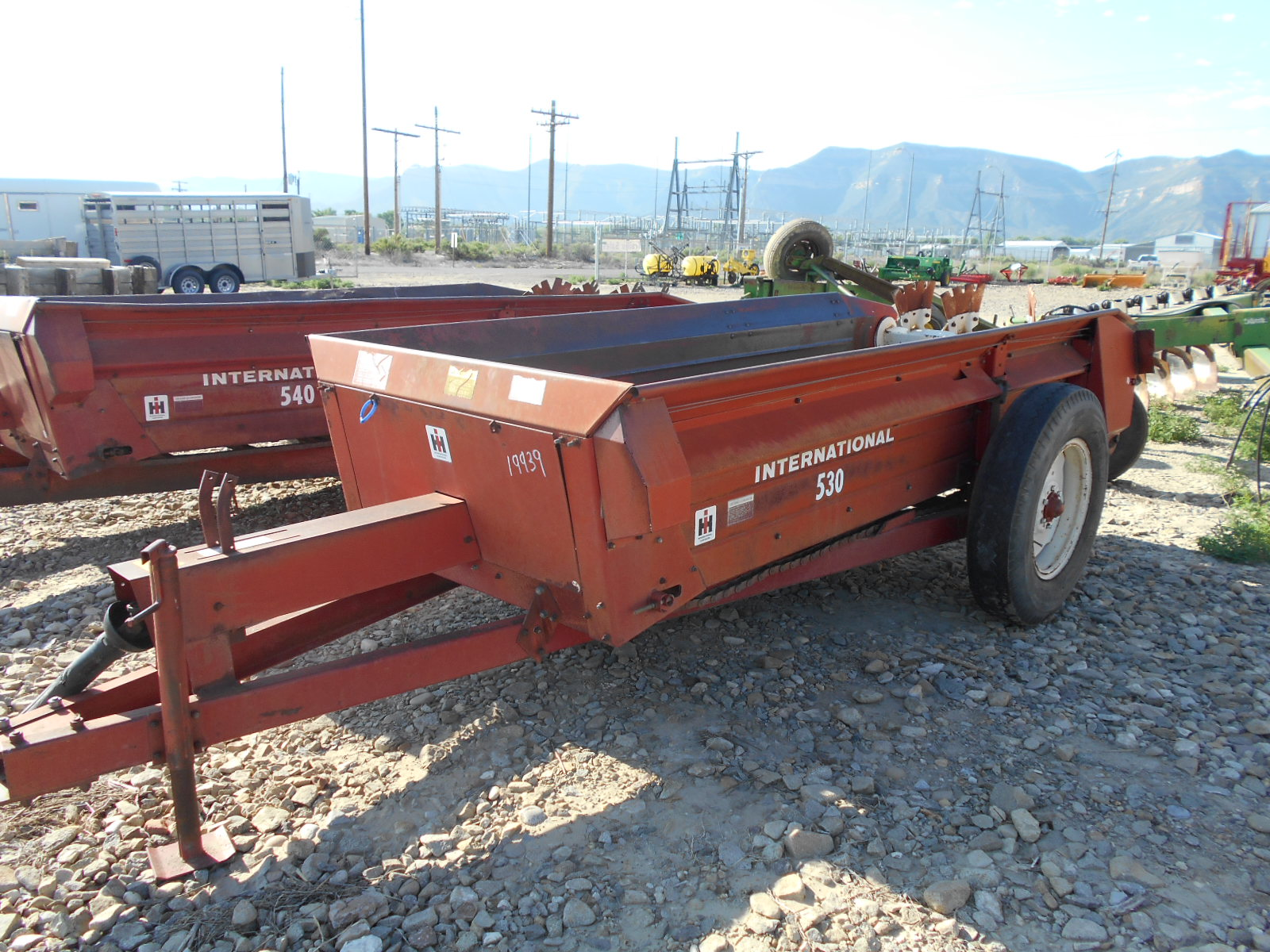 Ih Manure Spreader : Used international manure spreader d sales