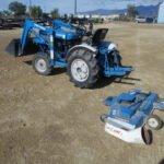 D&D Sales Cortez CO Used Ford 1210 4X4 Tractor