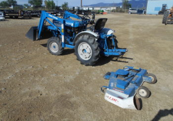 Used Ford 1210 4X4 Tractor w/Loader & Mid-Mount Mower Stock # 490 Price: $7950