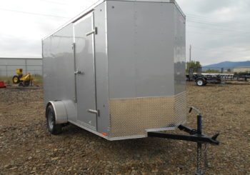 New Look Vision 7X14 Cargo Trailer Stock # 19504 Price: $5395