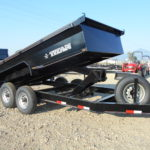 D&D Sales Cortez CO New Titan 14' Dump Trailer