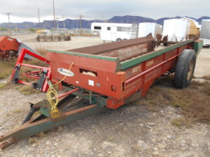 D&D Sales Cortez CO Used New Idea Manure Spreader