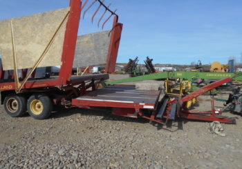 Used New Holland 1032 Bale Wagon Stock #588