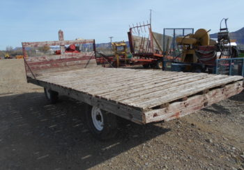 Used Wagon Gear with Flatbed Stock #589