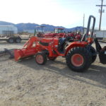 D&D Sales Cortez CO Used Kubota B7800 4X4 Tractor w/Attachments