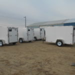 D&D Sales Cortez Co 5 New Look Trailers: 5X8 to 5X10