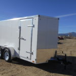 D&D Sales Cortez, CO New 6X12 Look Trailer