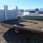 D&D Sales Cortez CO Used 2000 7X12 Triton Elete Sno-Trailer