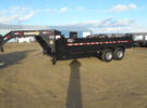 New Diamond T 83X16 Goose-neck Lo-Pro Dump Trailer Stock# 21961