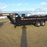 D&D Sales Cortez CO New Diamond T 83X16 Goose-neck Trailer