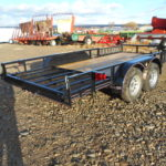 D&D Sales Cortez CO New Diamond T 83X16 ATV Trailer