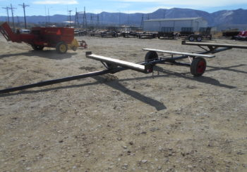 Used Pipe Trailer Stock #613 Price: $1950