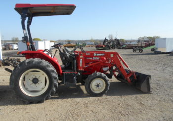 Used Branson 3510 4WD Tractor Stock #628 Price: $11750