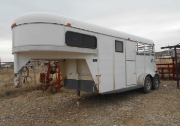 Used 1996 Chaparral Gooseneck Trailer Stock #60627 Price: $4950