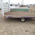 D&D Sales Cortez CO Used 2000 Triton Elite Open Sno-Trailer