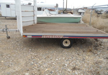 Used 2000 Triton Elite Open Sno-Trailer S/N: 05309 Price: $750