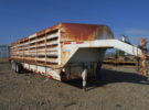 Used 2004 Banens 40′ Double Deck Sheep Trailer