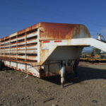 D&D Sales Cortez, CO Used 2004 Banens 40' Double Deck Sheep Trailer
