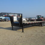 D&D Sales Cortez CO New Tital 8.6X30 Gooseneck Trailer
