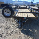 D&D Sales Cortez CO New Diamond T 83X18 Heavy Duty Utility Trailer