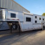 D&D Sales Cortez CO Used 2005 Exiss 3-Horse Trailer
