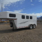 D&D Sales Cortez CO Used 2015 Trailswest Adventure 3-Horse Trailer