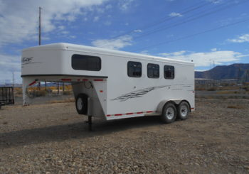 Used 2015 Trailswest Adventure 3-Horse Trailer Price: $10750