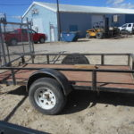 D&D Sales Cortez CO Used 2008 Haulrite 5X10 Utility Trailer