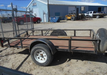 Used 2008 Haulrite 5X10 Utility Trailer Stock #00389 Price: $750