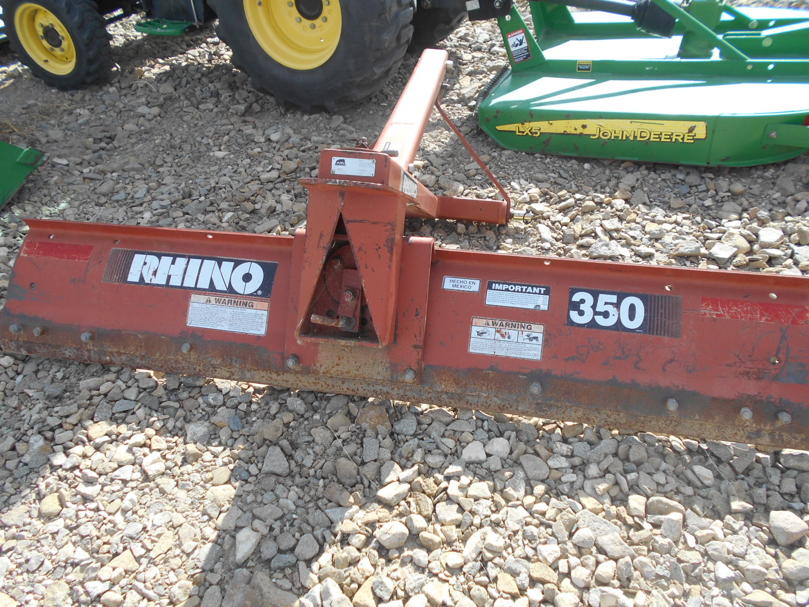 USED JD 3350 TRACTOR AND EQUIP 010 - D & D Sales   Trailer