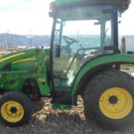 D&D Sales Cortez CO Used 2007 John Deere 3320 Tractor with JD 300x Loader and Other Attachments