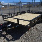 D&D Sales Cortez CO Used Diamond T 83X14 ATV Trailer