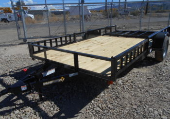 New 2019 Diamond T 83X14 ATV Trailer Stock #23320 Price: $2095
