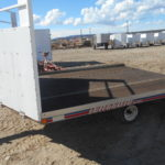 D&D Sales Cortez CO Used 2000 7X12 Triton Snowmobile Trailer