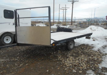 Used 2004 Voyger 2 Place Snowmobile Trailer Stock #15705 Price: $950