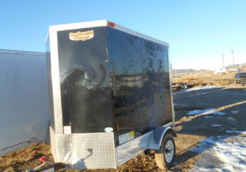 Used 2016 Continental 4X8 Cargo Trailer Stock #329614 Price: $1650
