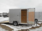 New Look 6X10 Cargo Trailer Stock #25605 Price: $3495
