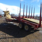 D&D Sales Cortez, CO Used New Holland 1037 Bale Wagon