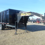 D&D Sales Cortez, CO Used 2001 Bix Tex 96X16' Dump Trailer