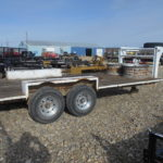 D&D Sales Corte, CO Used 1973 Homemade Gooseneck Equipment Trailer