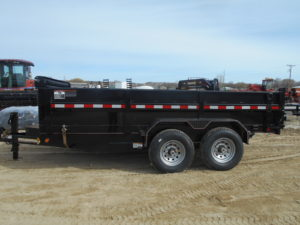 D&D Sales Cortez, CO New Diamond T 83X14 Lo-Pro Dump Trailer