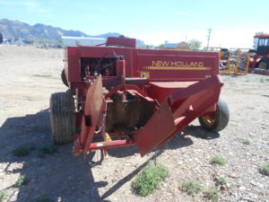 D&D Sales Cortez, CO Used 575 New Holland Twine Tie Baler