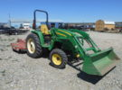 Used 2007 John Deere 4720 Tractor & Attachments Stock #C38 Price: $22,500