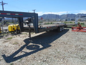 D&D Sales Cortez, CO Used 2007 Circle-D Gooseneck Trailer