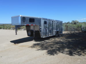 D&D Sales Cortez, CO Used 2017 Merritt Aluminum Trailer Like New