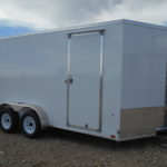 D&D Sales Cortez, CO New Look 7X14 Trailer White