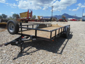 D&D Sales Cortez, CO New Diamond T 83X18 Trailer