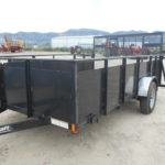D&D Sales Cortez, CO Used 84X12 Playcraft Landscape Trailer