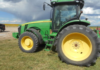 Used 2012 John Deere 7200R 4WD Tractor Price: $105,000